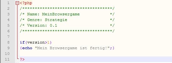 eigenes browsergame erstellen