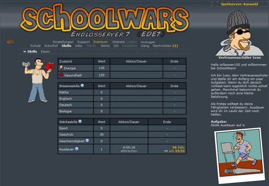 schoolwars skills